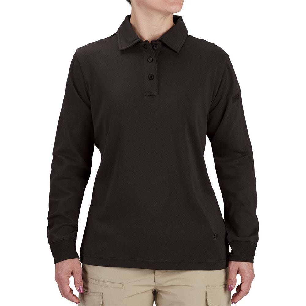 Propper® Women's Uniform Cotton Polo - Long Sleeve