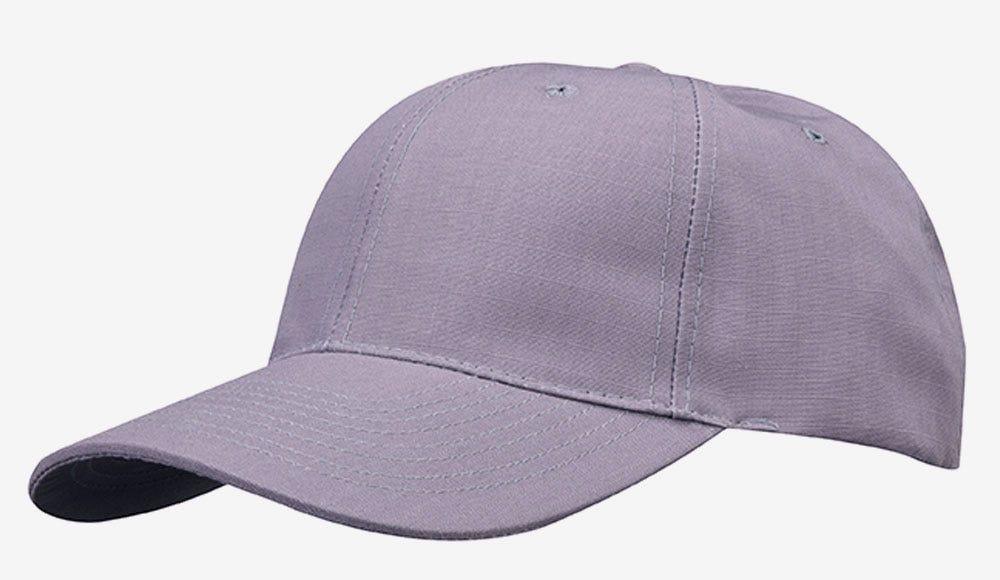 6-panel cap grey