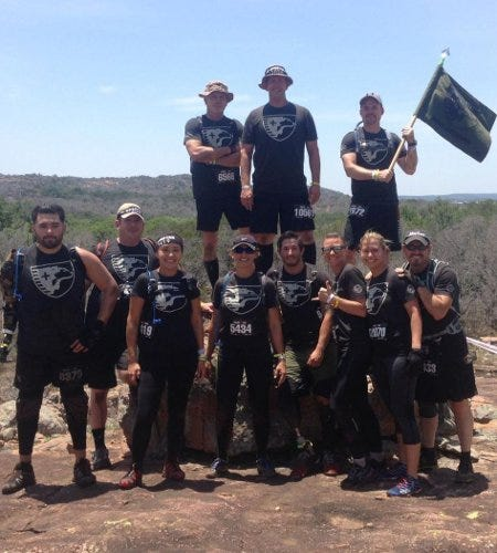 Sheep Dog Members in Spartan Race