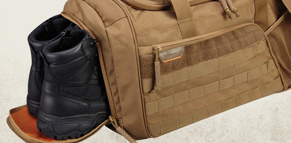 Tactical Duffle with Shoe Tunnel