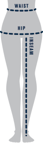 Women's Pant Measure