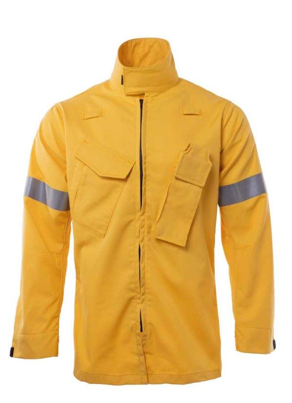 Wildland Overshirt yellow hero